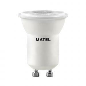 BOMBILLA LED MATEL DICROICA GU10 3W NEUTRA