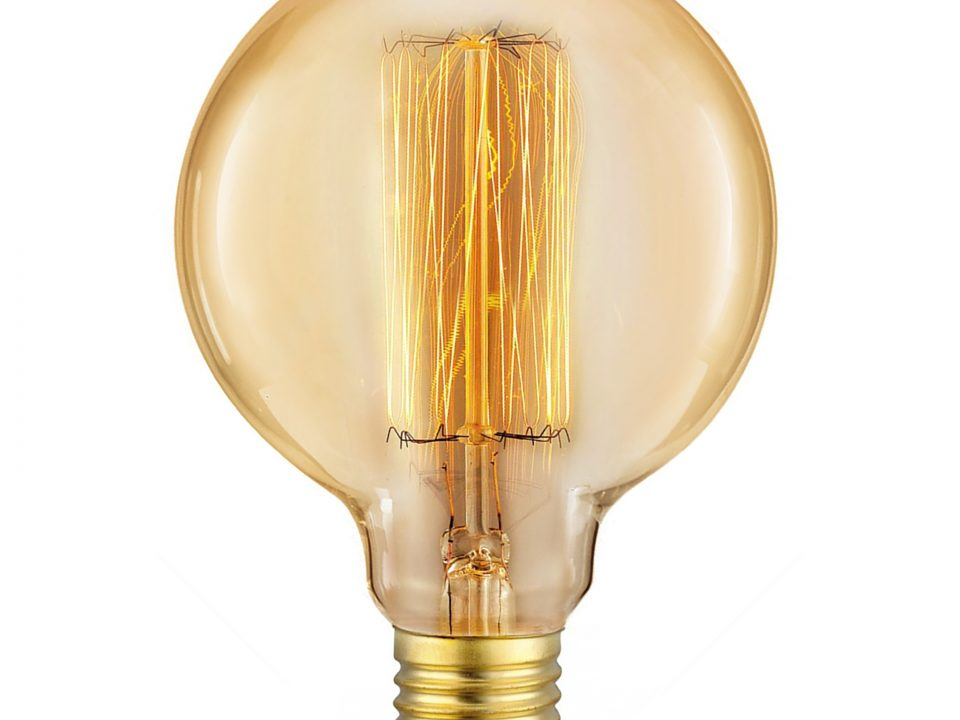 BOMBILLA LED MATEL EDISON E27 G95 VINTAGE 40W
